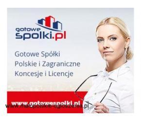 Gotowe Spółki w Holandii w Belgii, Niemczech, w Anglii, Bułgaria Słowacja, KONCESJA OPC